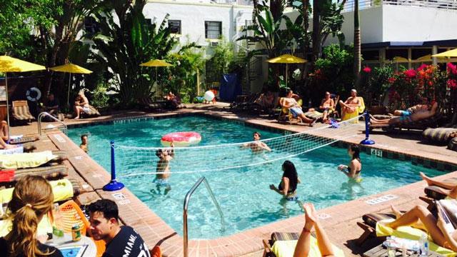 Backyard Pool Parties At Broken Shaker Freehand