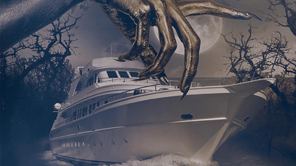 Halloween Miami yacht party