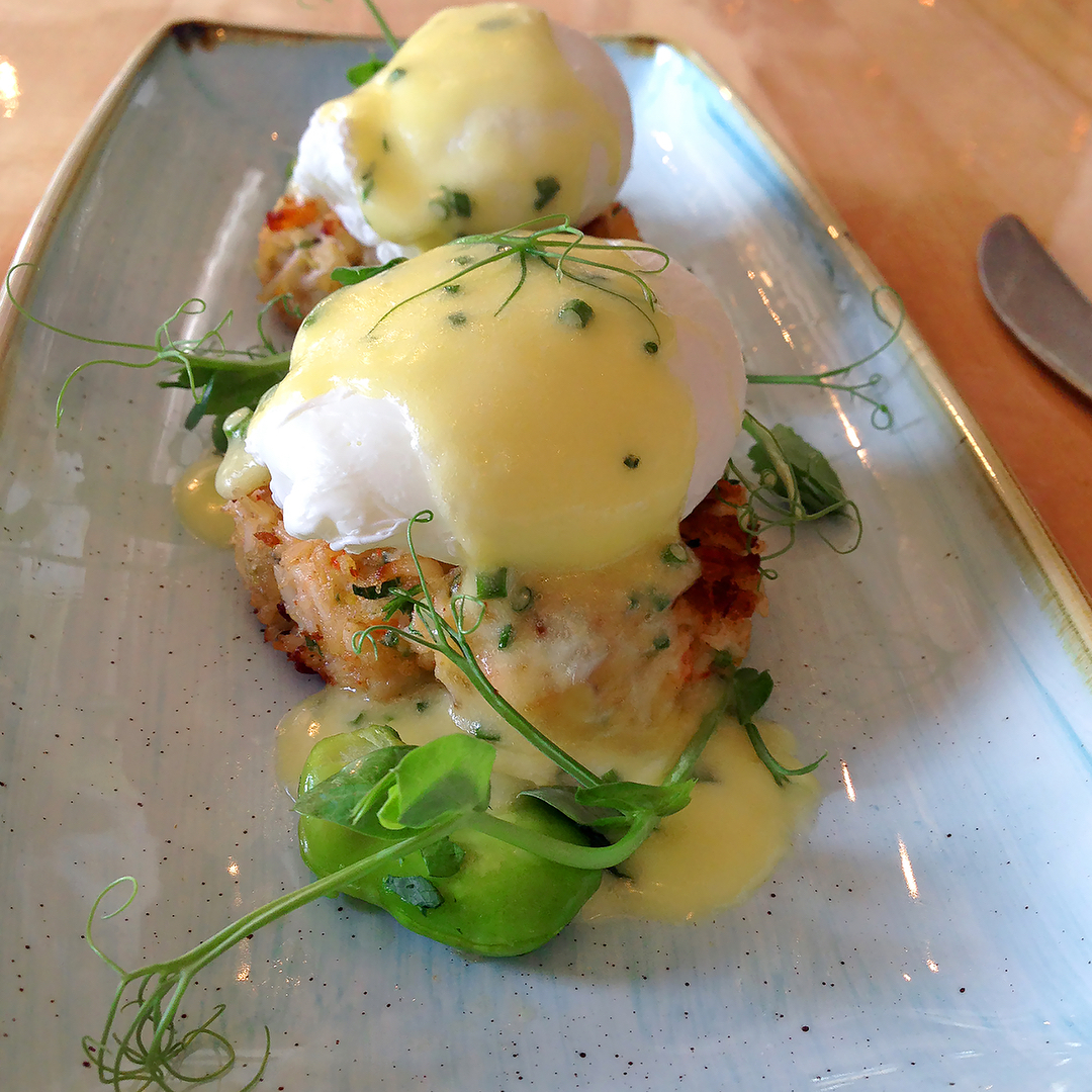Speaspice Alaskan King Crab Benedict