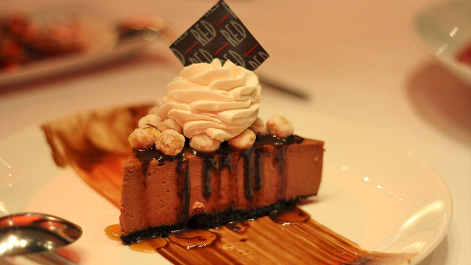 Red Steakhouse Nutella Cheesecake