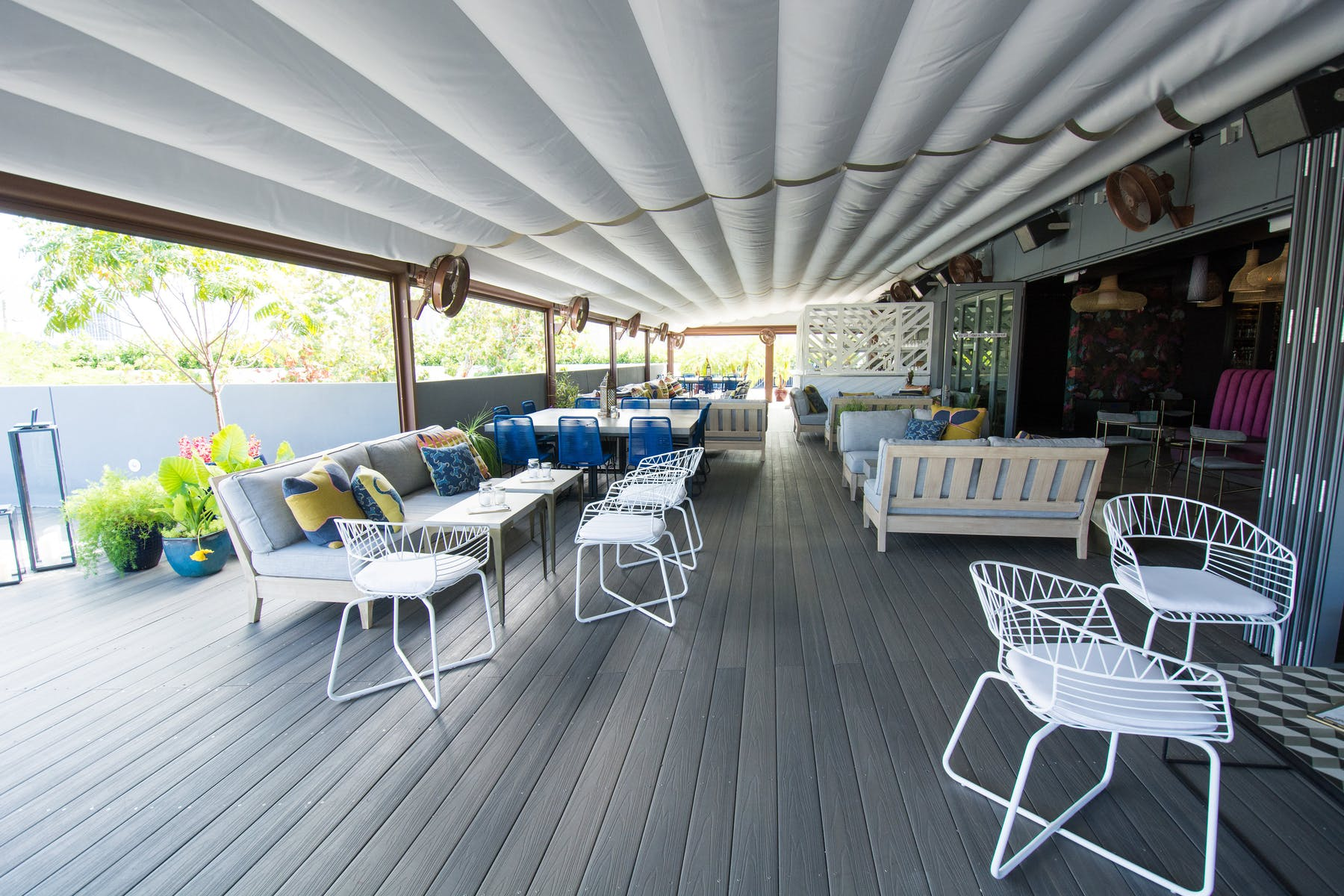 Rooftop at No. 3 Social Wynwood